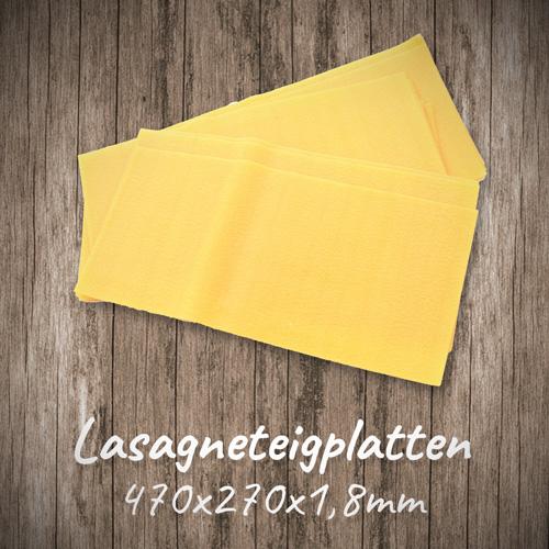 Lasagneteigplatten